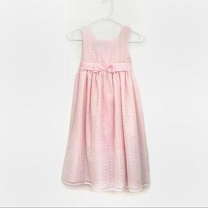 kids pink marmellata lace dress